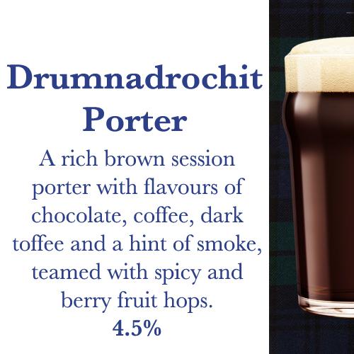 Drumnadrochit Porter | Kiltin Microbrewery & Brewpub Grenoble