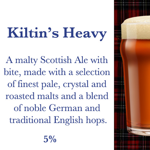 Kiltin' Microbrewery Grenoble | Kiltin's Heavy | Traditional Malty Scottish Beer