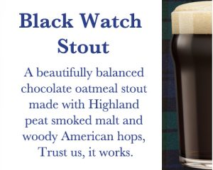 Black Watch Stout