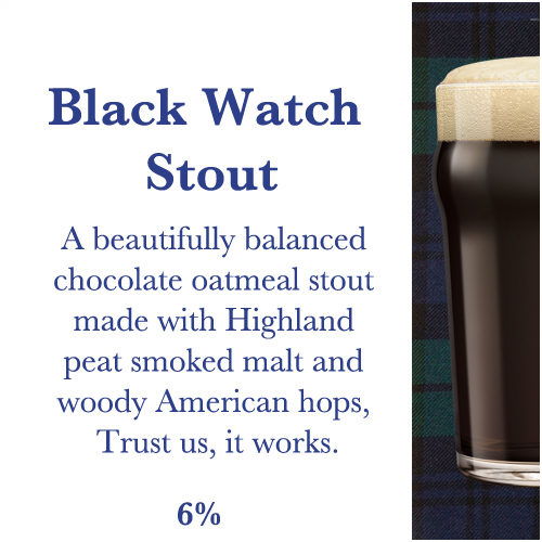 Black Watch Stout - Craft Beer Grenoble